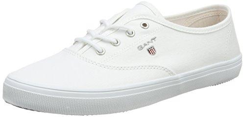 GANT Footwear Damen New Haven Sneaker, Weiß (Unclouded White), 39 EU