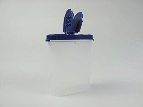 TUPPERWARE Grands contenants à épices bleu