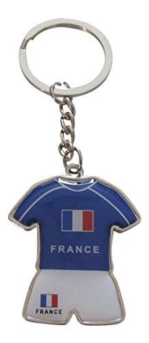 Porte-clés maillot et short de l'équipe de France football, Coupe d'Europe 2016.