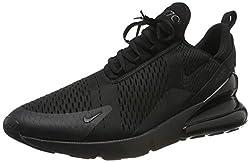 Nike Herren AIR MAX 270 Sneakers, Schwarz (Black/Black/Black 001), 43 EU