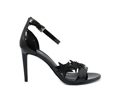 Michael Kors Sandalo Lexie Sandal Patent Black