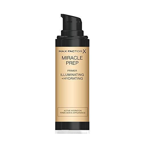 Max Factor Miracle Prep Iluminante & Hydrating Primer, Make Up base, 30 ML