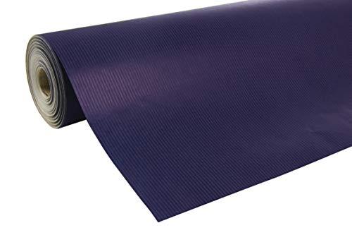 3C Rolle Geschenkpapier (50 x 0,7 m, spezielle Breite, Kraftpapier, strapazierfähig) 1 Stück blau ()