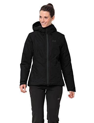 Jack Wolfskin Damen Argon Storm Jacket W Wetterschutzjacke, Black, L
