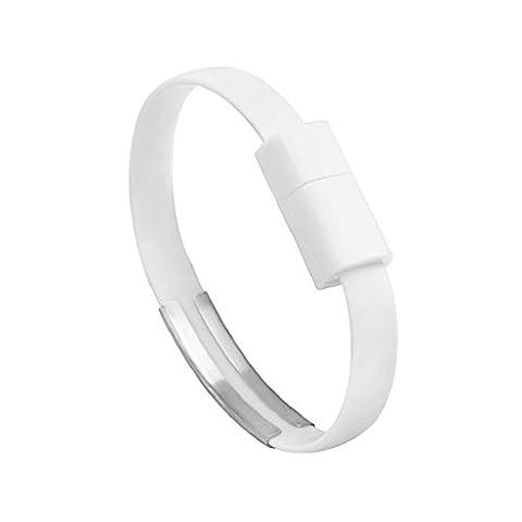Bracelet auxma Chargeur Micro câble USB de charge et synchronisation pour Android téléphone portable