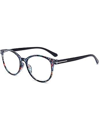 VEVESMUNDO® Lesebrillen Damen Herren Brillen Federn-Scharnier modern Schmal Lesehilfe Augenoptik Mode Qualität Vollrandbrille 1.0 1.5 2.0 2.5 3.0 3.5 4.0 (Mehrfarbig, 2.5)