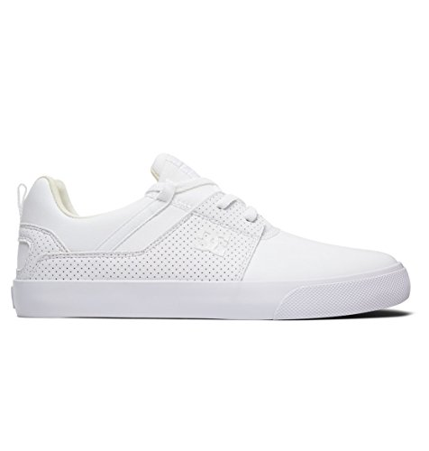 DC Shoes Herren Heathrow Vulc Sneaker, Weiß (White Wht), 43 EU (Dc Sneakers Shoes Athletic)