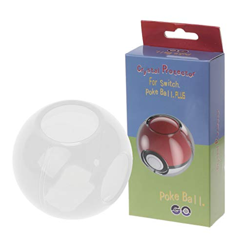 GROOMY Kunststoff Kristall Schutzhülle Stoßfest Abdeckung Shell für Nintend Switch NS Pokeball Plus Controller Tasche Box