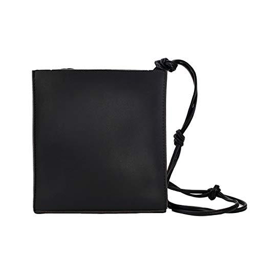 Mitlfuny handbemalte Ledertasche, Schultertasche, Geschenk, Handgefertigte Tasche,Frauen Wild Messenger Bag Fashion One-Shoulder Kleine quadratische (Marilyn Monroe Hund Kostüme)