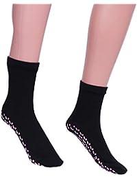 SUPVOX Calcetines de algodón autocalentables Acolchado Pies Masajeador Terapia Masaje Medias
