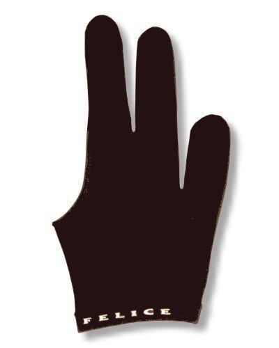"""Billard-Handschuh, FELICE """" SCHWARZ"""" , für rechte und linke Hand. einer der beliebtesten Profihandschuhe aus den USA"""
