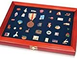 Wooden Display Case for Medals, Pins and Decorations