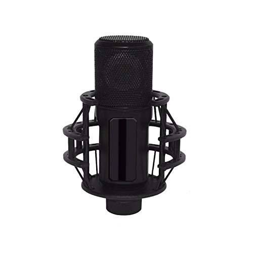 PQZATX Kondensator Mikrofon über Anti Vibration Aufprall Halterung Professionelles Studio Mikrofon für Aufnahme, Computer Spiel, BüHne, Ktv, Heim, Live