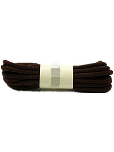 Boowhol Unisex Kinder Erwachsene Schuhband Rund Schnürsenkel Shoelace Breit 0.4CM , Länge: 70-150 CM