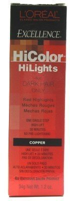 loreal-excellence-hicolor-hilights-copper-12-oz-case-of-6-by-loreal