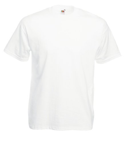 Fruit of the Loom - Outstanding T-Shirt 'Value Weight' XL,White