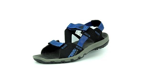 371450228214d Adidas TERRA SPORTS Black Blue Men Sandals  Amazon.co.uk  Sports   Outdoors