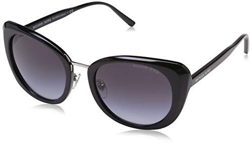 Michael Kors Damen LISBON 317711 52 Sonnenbrille, Black/Gradient,