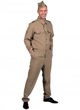 GI Soldat amerikanischer Soldat Armee 50er Jahre Jetpilot -