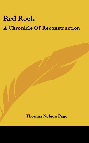Red Rock: A Chronicle of Reconstruction