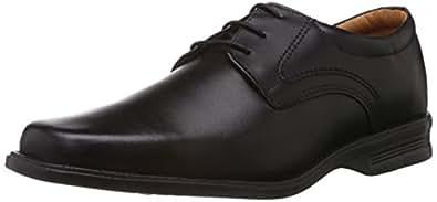 Bata Men's Roy Black Leather Formal Shoes - 10 UK/India (44 EU) (8246552)