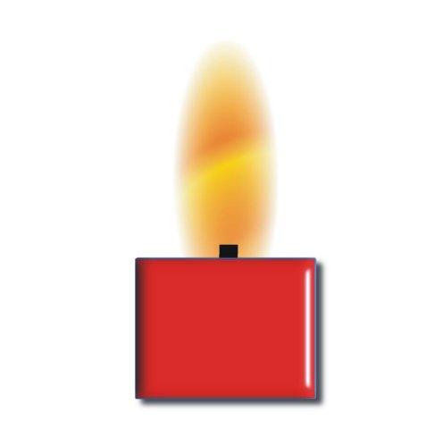 TrendLight 890024 Wachsfarbe für 1kg Wachs, Qualitätsfarbe zum Kerzenwachs einfärben, rot