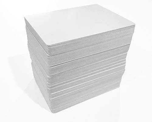 180 En blanco tarjetas juego acabado mate & Poker
