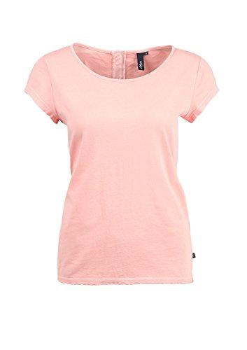 s.Oliver Denim 41.504.32.2276 - T-shirt - Femme Orange - Orange (peach melba 2009)
