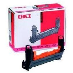 7400 Magenta Toner (OKI 41304110 C7200, C7200n, C7200dn, C7400 Trommel magenta 30.000 Seiten)