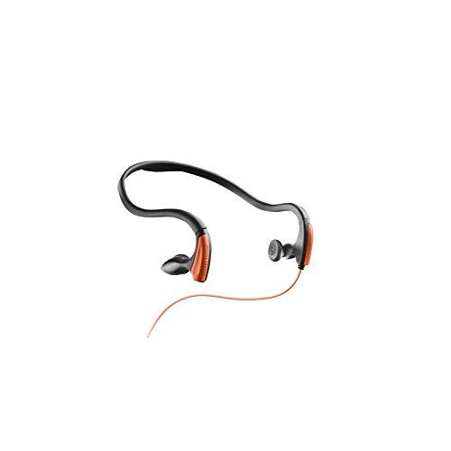 Energy Sistem Running One - Auriculares de contorno de cuello, naranja neón