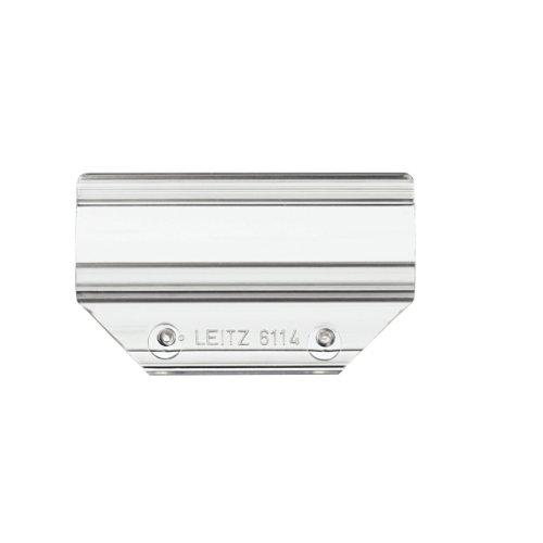 Leitz Vollsichtreiter, 60 mm, 4-zeilig, Kunststoff, transparent
