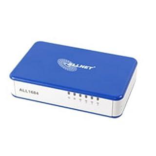 ALLNET Powerline ALL1684 - Bridge - 4-port switch - HomePlug 1.0 with Turbo - desktop