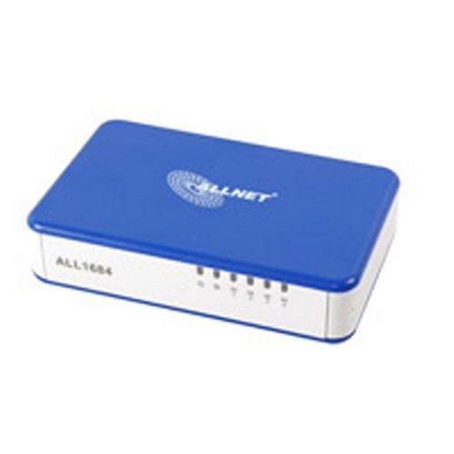 Allnet 85 Mbit Powerline Switch 4 Port (Netzwerk aus der Steckdose)