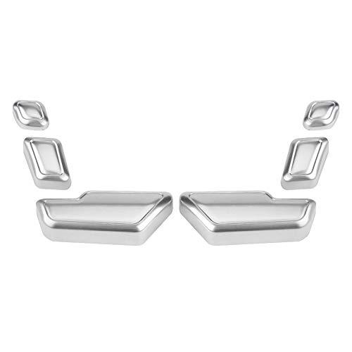 Autositz Zierleiste, Autositz Verstellknopf Schalterabdeckung Dekorative Aufkleber Zierleiste Für C E GLK GL ML