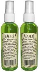 KHADI FACE FRESHENER PACK OF 2-MINT & CUCUMBER(100 ML.)