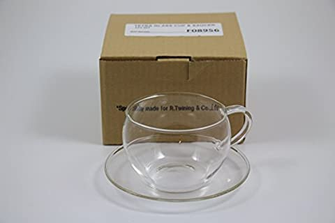 Twinings Luxury Glass Cup and