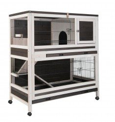 CAGE LAPIN d'Interieur HUTCHLAND