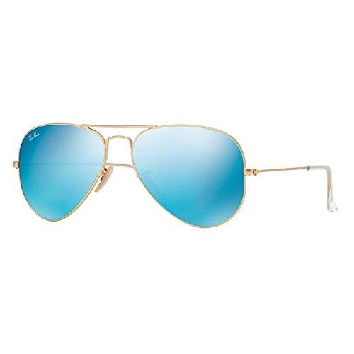 ray-ban-unisex-sonnenbrille-gr-x-large-herstellergrosse-62-blau-gestell-gold-glaser-blau-verlauf