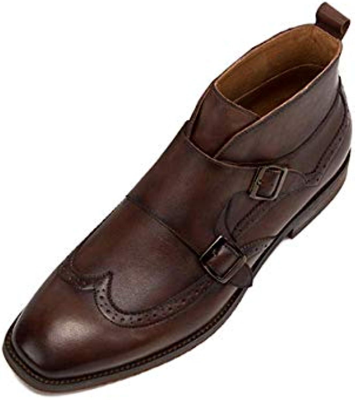 Scarpe da Uomo Scarpe Alte Scarpe Martin Stivali Casual British Antiscivolo Traspirante | Costi Moderati  | Scolaro/Ragazze Scarpa