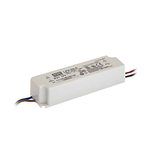 LED Netzteil 15W 5V 3A ; MeanWell, LPV-20-5 ; Schaltnetzteil