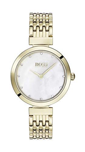 Hugo Boss Womens Analogue Classic Quartz Watch with Stainless Steel Strap 1502479