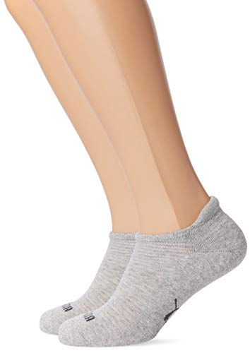Puma Damen Sneaker 2P Women Socken, Grey Melange, 39-42 -