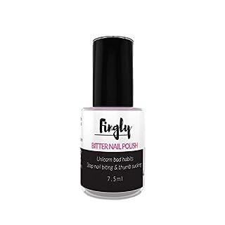 Bitterer Nagellack von Fingly 7,5ml | Nägelkauen stoppen mit Speziallack für Nägelbeißer | Gegen Nägelkauen | Auch für Kinder Nagelkauer