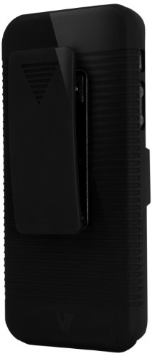 V7 PA19HBLK-2E Clip Holster Custodia per iPhone 5/5S