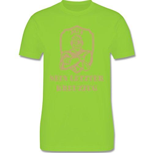 JGA Junggesellenabschied - Sein letzter Kreuzzug - Herren Premium T-Shirt Hellgrün