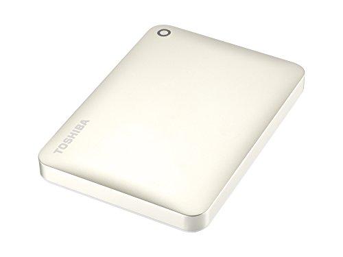 Toshiba Canvio Connect II 3 TB Mobile Festplatten (6,4 cm (2,5 Zoll) USB 3.0) mattgold