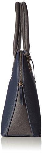 Marco Tozzi - 61028, Borse a secchiello Donna Blu (Navy Comb)
