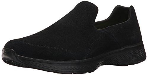 Skechers Herren Go Walk 4 Laufschuhe, Schwarz (Black), 40 EU (Skechers Jungen Größe 5 Schuhe)