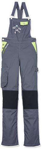 Fashion Securite 660140Pep \'s Latzhose-Arbeit Größe XS grau/lime