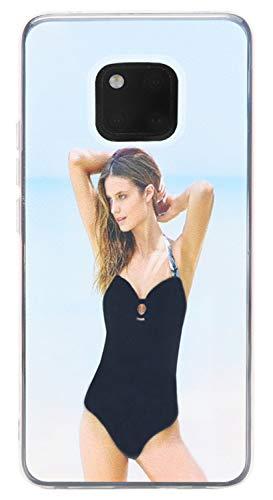"BINGRAN Huawei Mate 20 Pro Hülle, Sexy Bikini Mädchen Muster Bewegende Treibsand Quicksand Soft TPU Silikon Weich Hülle für Huawei Mate 20 Pro 6.39"" Sexy Girl 03"